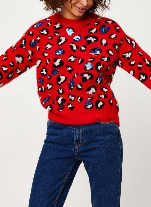 Vêtements Frnch MS18-123 Rouge vue détail/paire