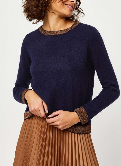 Vêtements Frnch MS18-84 Bleu vue droite