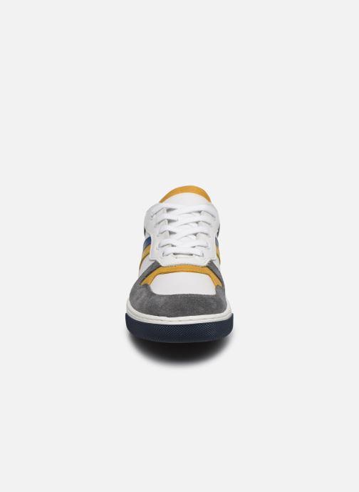 Baskets I Love Shoes SOLEIL LEATHER Gris vue portées chaussures