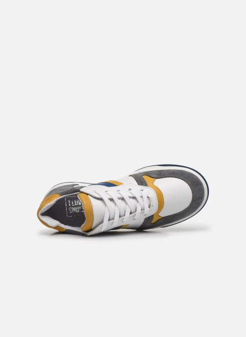 Deportivas I Love Shoes SOLEIL LEATHER Gris vista lateral izquierda