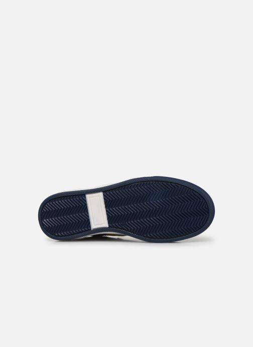 Deportivas I Love Shoes SOLEIL LEATHER Gris vista de arriba