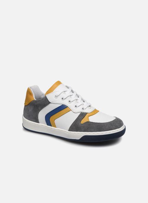 Baskets I Love Shoes SOLEIL LEATHER Gris vue détail/paire