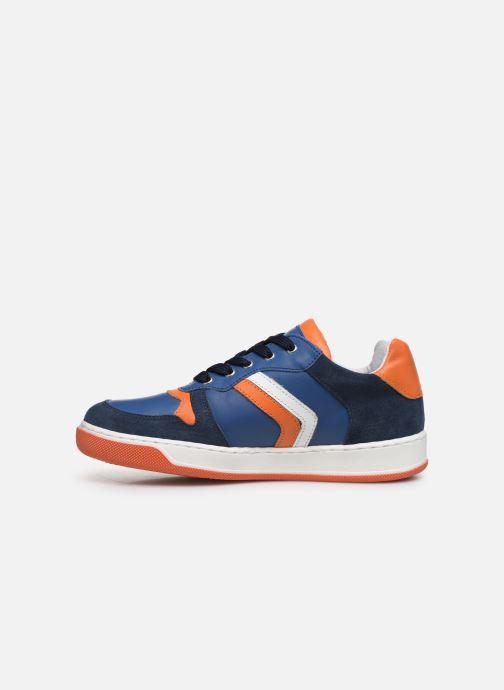 Baskets I Love Shoes SOLEIL LEATHER Bleu vue face