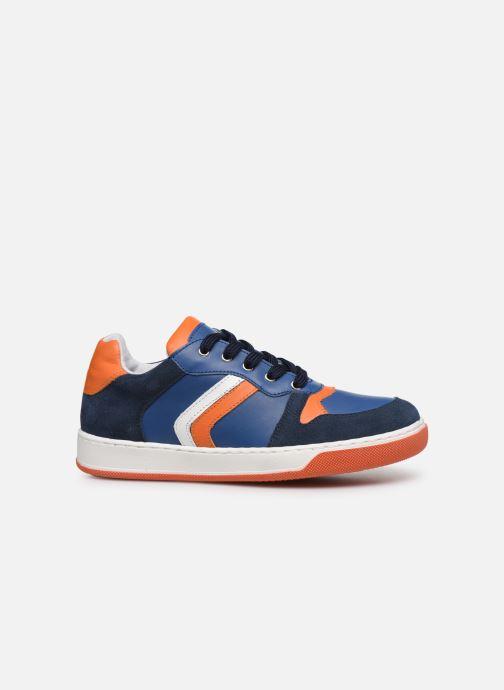 Deportivas I Love Shoes SOLEIL LEATHER Azul vistra trasera