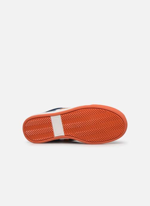 Deportivas I Love Shoes SOLEIL LEATHER Azul vista de arriba