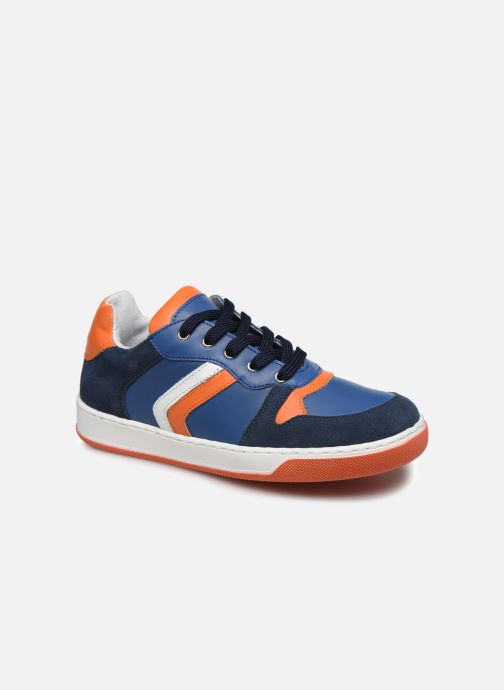 Baskets I Love Shoes SOLEIL LEATHER Bleu vue détail/paire
