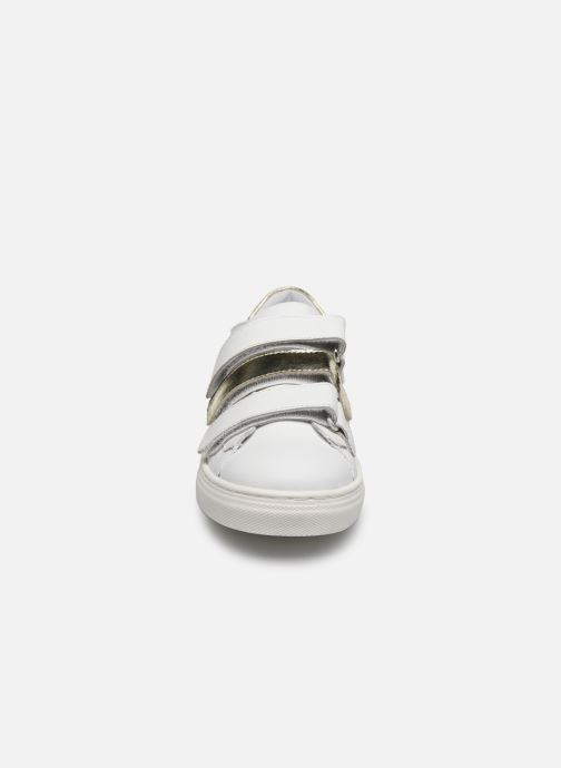 Baskets I Love Shoes SOMELO LEATHER Blanc vue portées chaussures