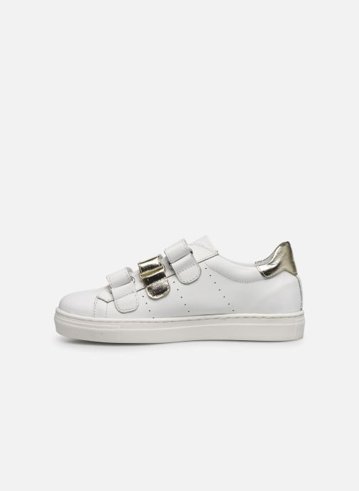 Baskets I Love Shoes SOMELO LEATHER Blanc vue face