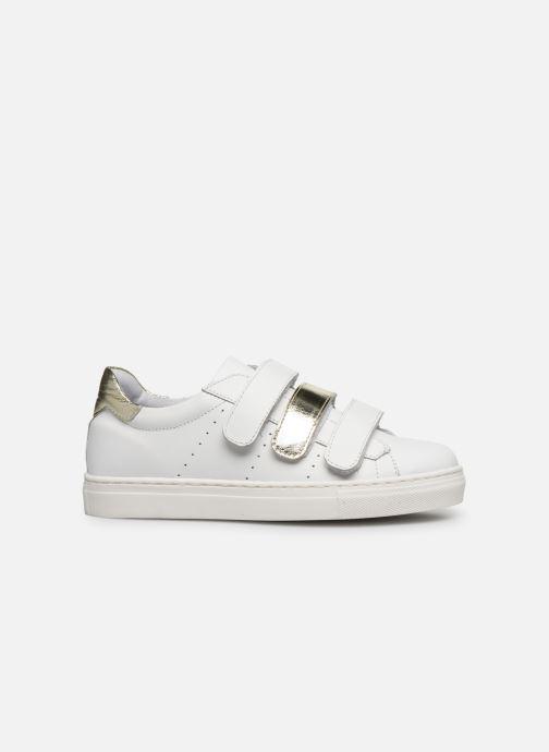 Baskets I Love Shoes SOMELO LEATHER Blanc vue derrière