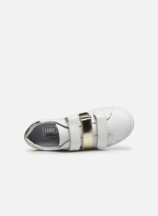 Baskets I Love Shoes SOMELO LEATHER Blanc vue gauche