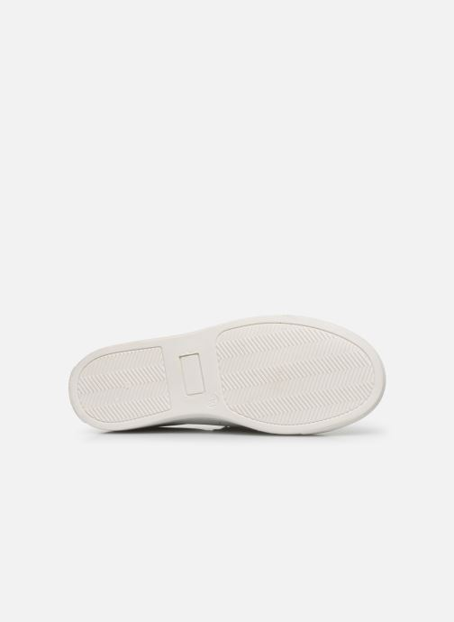 Baskets I Love Shoes SOMELO LEATHER Blanc vue haut