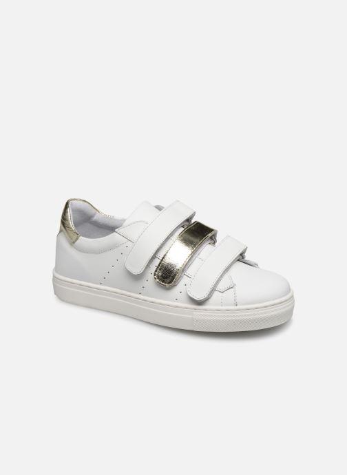 Baskets I Love Shoes SOMELO LEATHER Blanc vue détail/paire