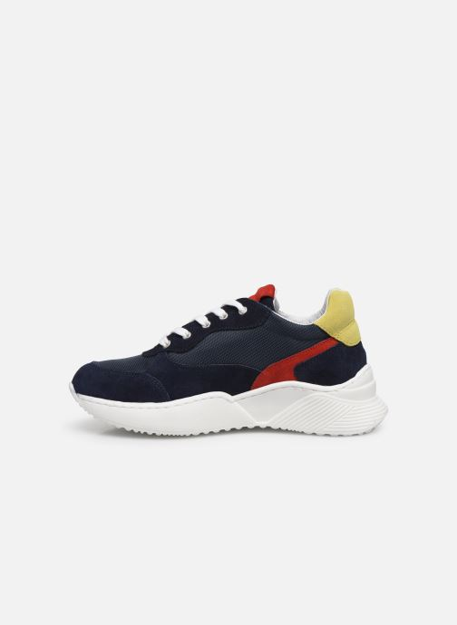 Sneakers I Love Shoes SOLUNE LEATHER Azzurro immagine frontale