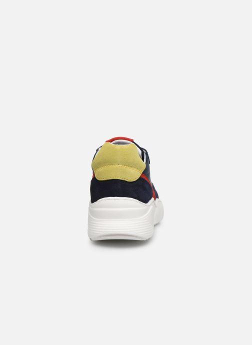 Sneakers I Love Shoes SOLUNE LEATHER Azzurro immagine destra