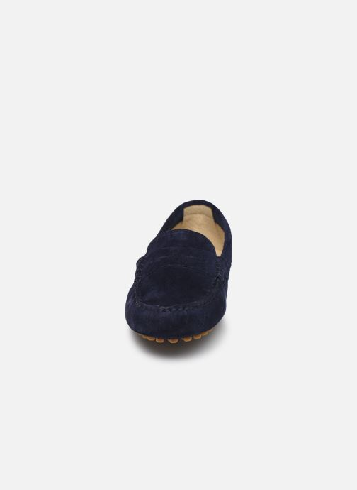 Mocassins Georgia Rose Stolima Bleu vue portées chaussures