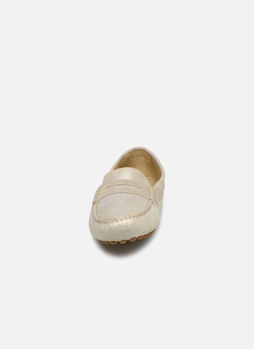 Mocassins Georgia Rose Stolima Or et bronze vue portées chaussures