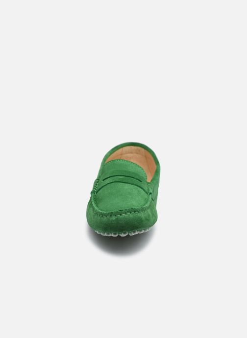 Mocassins Georgia Rose Stolima Vert vue portées chaussures