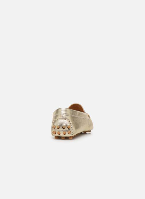 Mocassini Georgia Rose Sifeuille Oro e bronzo immagine destra