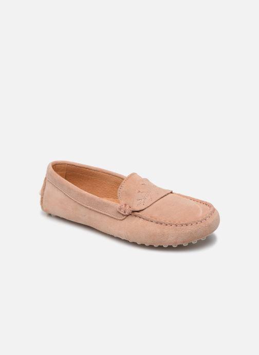 Loafers Georgia Rose Sifeuille Pink detaljeret billede af skoene