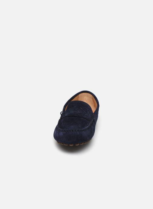 Mocassins Georgia Rose Sifeuille Bleu vue portées chaussures
