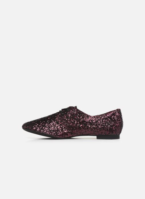 Chaussures à lacets Kaporal Saluzo Violet vue face