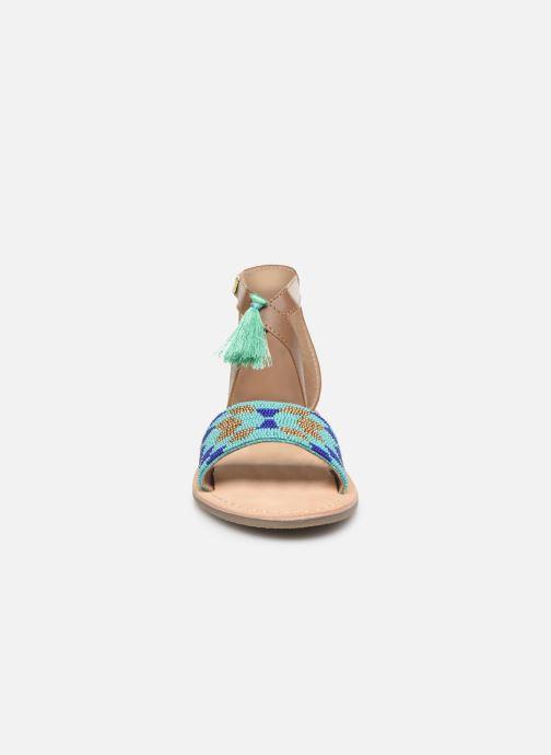 Sandales et nu-pieds Kaporal Noona Marron vue portées chaussures