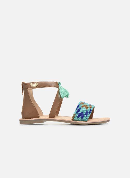 Sandales et nu-pieds Kaporal Noona Marron vue derrière