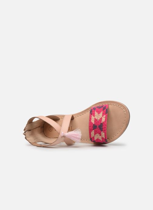 Sandals Kaporal Noona Beige view from the left