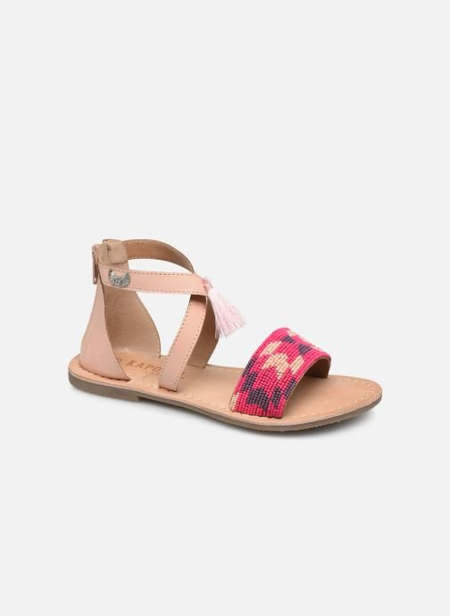 Sandals Kaporal Noona Beige detailed view/ Pair view