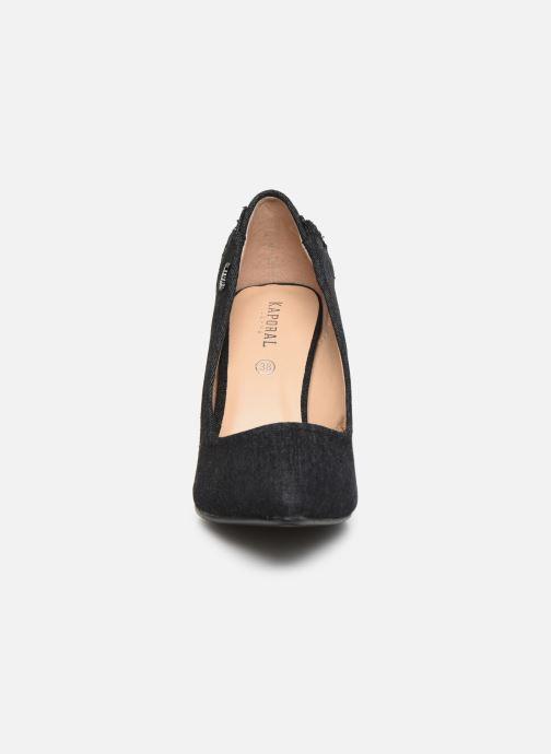 Escarpins Kaporal Stefan Noir vue portées chaussures