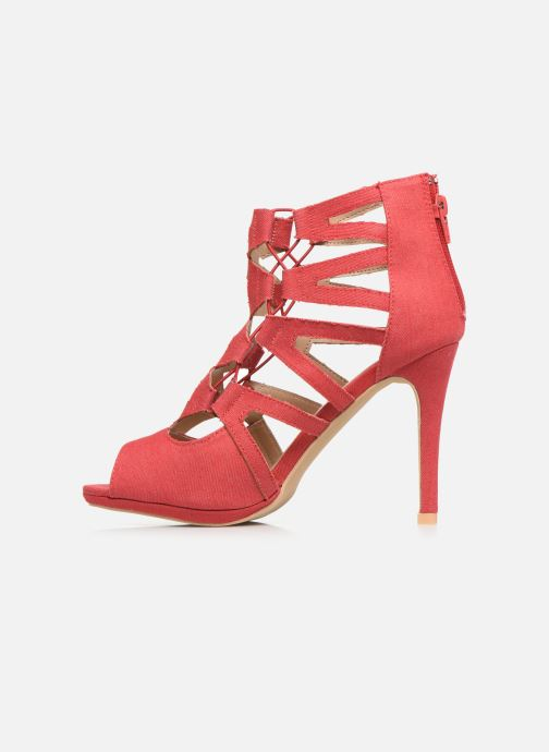 High heels Kaporal Regina Red front view