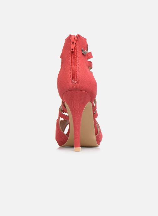 High heels Kaporal Regina Red view from the right