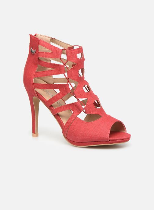 High heels Kaporal Regina Red detailed view/ Pair view