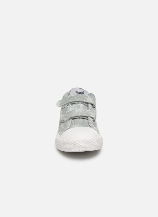 Baskets Kaporal Rosy Gris vue portées chaussures