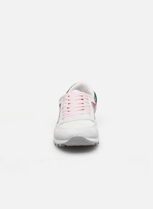 Baskets Kaporal Tallulah Blanc vue portées chaussures