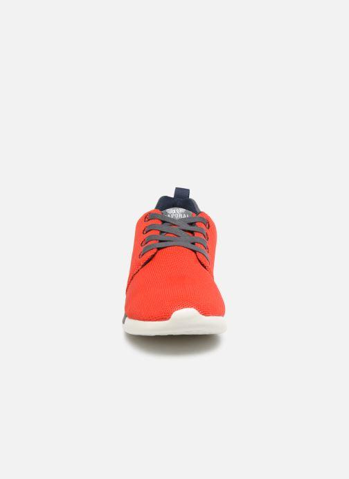 Baskets Kaporal Kalua Rouge vue portées chaussures