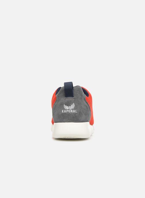 Sneaker Kaporal Kalua rot ansicht von rechts