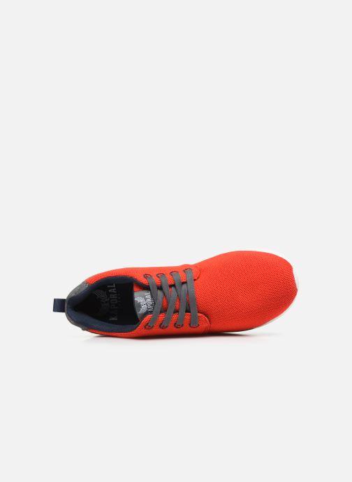 Sneaker Kaporal Kalua rot ansicht von links
