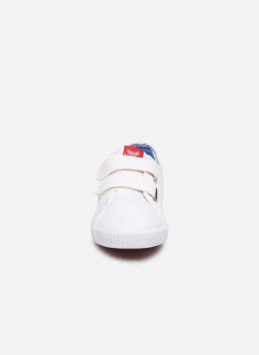 Baskets Kaporal Kavid E Blanc vue portées chaussures