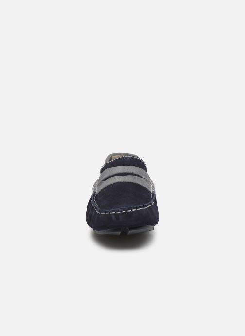 Mocassins Kaporal Lima Bleu vue portées chaussures