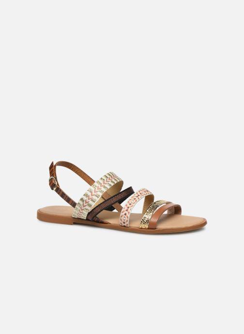 Sandales et nu-pieds Georgia Rose Dowest Marron vue détail/paire