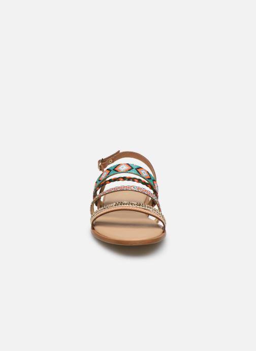 Sandales et nu-pieds Georgia Rose Dowip Vert vue portées chaussures