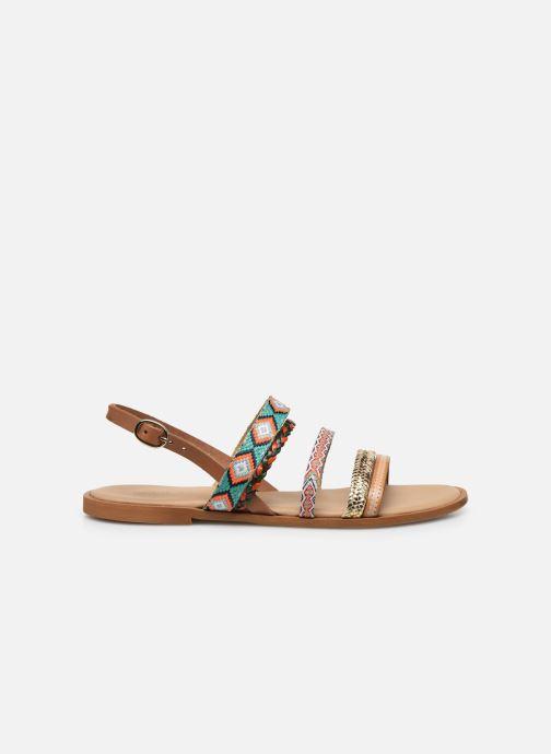 Sandales et nu-pieds Georgia Rose Dowip Vert vue derrière