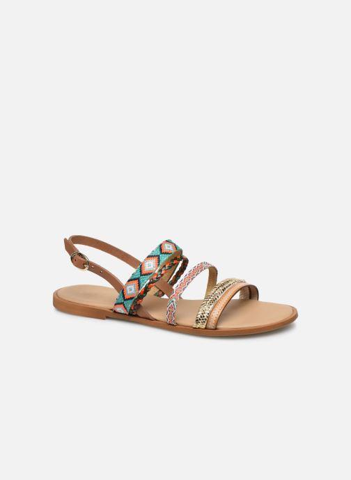 Sandales et nu-pieds Georgia Rose Dowip Vert vue détail/paire