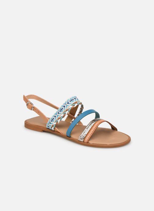 Sandales et nu-pieds Georgia Rose Dowip Bleu vue détail/paire