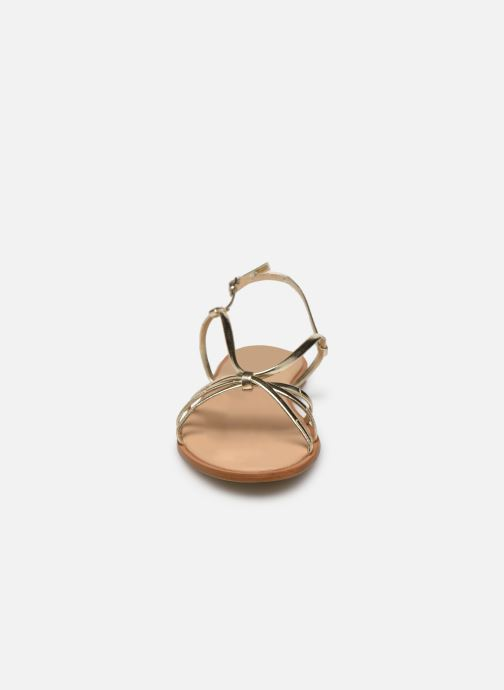 Sandales et nu-pieds Georgia Rose Dopini Or et bronze vue portées chaussures