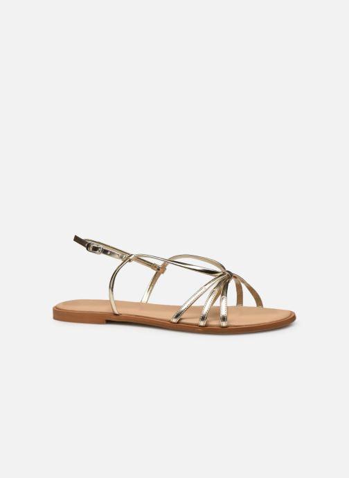 Sandales et nu-pieds Georgia Rose Dopini Or et bronze vue derrière