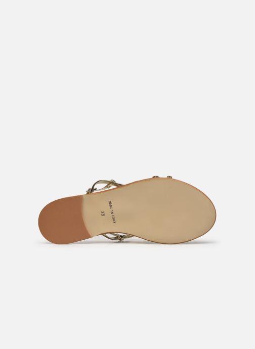 Sandales et nu-pieds Georgia Rose Dopini Or et bronze vue haut