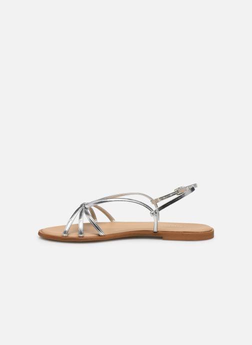 Sandales et nu-pieds Georgia Rose Dopini Argent vue face