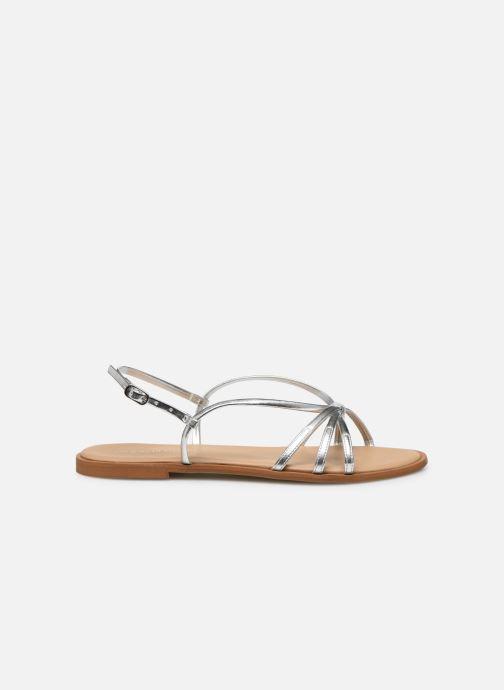 Sandales et nu-pieds Georgia Rose Dopini Argent vue derrière